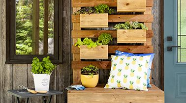 DIY : Jardinière verticale