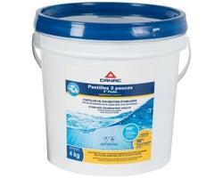 Canac Chlorine Pucks 3 in. 4 kg