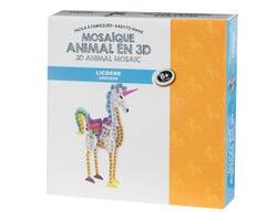 Mosaïque animal en 3D