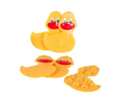 Duck Fun Treads for Bathtub (5-Pack)
