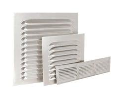 Aérateur en aluminium 8 po x 8 po