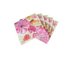 Serviettes de table Fleurs(Paquet de 20)