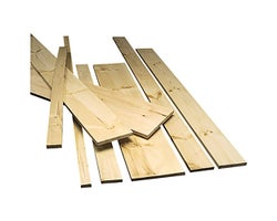 Knotted Pine 1 in. x 6 in. x 8 ft. Grade 1&2
