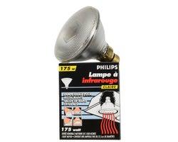 Ampoule à infrarouge PAR38, 175 W