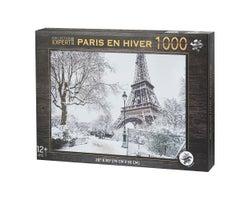 Paris in Winter Puzzle (1000 pieces)