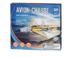 Avion de chasse à assembler