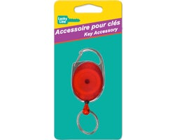 Oval Retractable Keychain