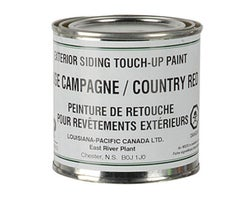 Exterior Siding Touch-Up Paint Countryside Red 284 ml