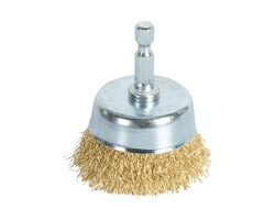 Fine Wire Rotative Cup Brush 3 in.