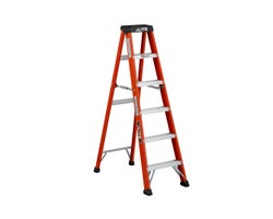 Heavy-Duty Fibreglass Stepladder 6 ft. Grade 1A