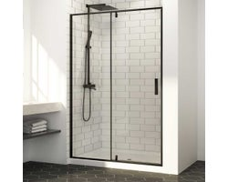 Labrador Shower Door 48 in. Black