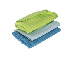 3 Multi-Purpose Microfibre Cloths