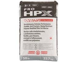 Ciment-colle Pro HPX Mortar 22,7 kg Gris