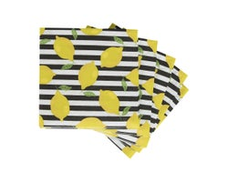 Table Napkins Lemons (20-Pack)