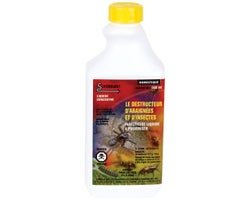 Destructeur d'araignées et d'insectes concentré 500 ml