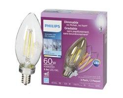 Ampoule DEL B11, 5,5 W (Paquet de 3)