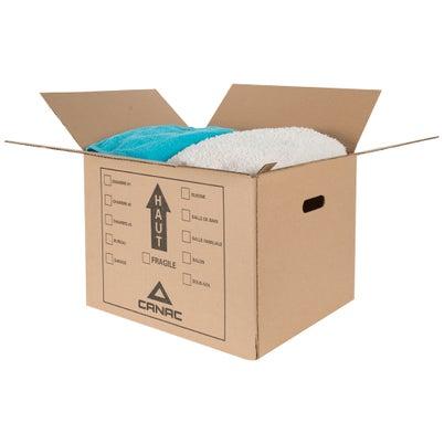 Boîte de carton 2 pi³