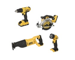 4 Pc. 20V MAX Cordless Combo Set