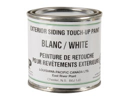 Exterior Siding Touch-Up Paint White 236 ml