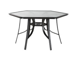 Hexagonal Garden Table