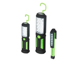 3-Pc  LED Worklight Set