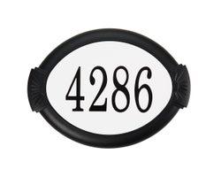 Classic Cast Aluminum Address Plaque