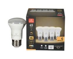 R16 Warm White LED Light Bulb 6 W (4-Pack)