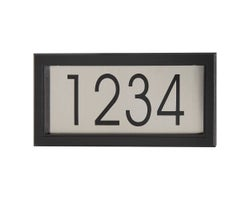 Contemporary Address Plaque