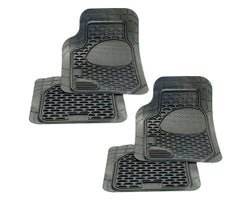 Deluxe Car Mat Set, 4-Pack