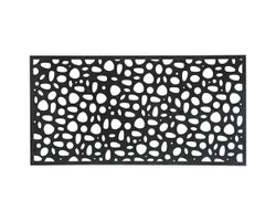 River Rock PVC Deco Panel 34 in. x 68 in.