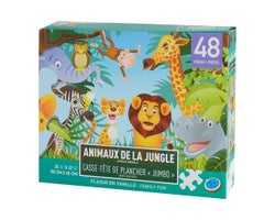 Jungle Animals Children's Puzzle (48 pieces)