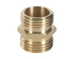 Raccord pour tuyau d'arrosage 3/4 po x 3/4 po (M x M)