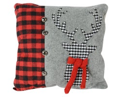 Coussin Renne 18 po