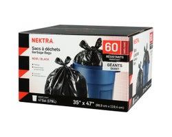 Giant Heavy Duty Trash Bags (60-Pack)