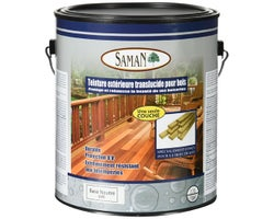 Exterior Translucent Neutral Base Wood Stain 3,78 L