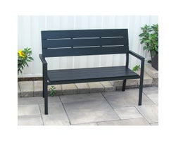 Kensington Bench50 po Black