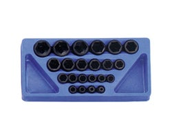 22-Piece 1/2 in. Dr. Deep Impact Socket Set