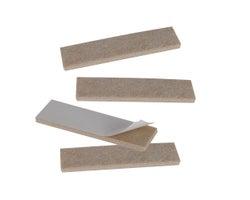 Felt Gard Felt Strips - 1 in. x 3-3/4 in. (4-Pack)