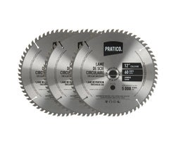 Circular Saw Blades 12 in., 60-Tooth (3-Pack)