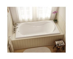 Cocoon Microjets Bathtub 60 in. X 32 in.