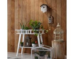 Lambris de bois Shiplap, Brun