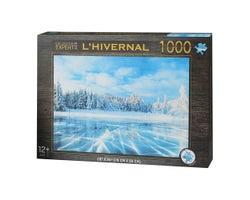Casse-tête L'Hivernal(1 000 morceaux)