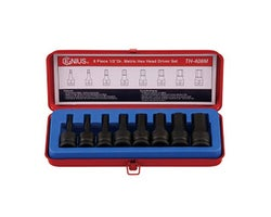 8-Piece 1/2 in. Dr. Hex Head Driver Set