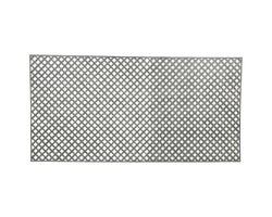 PVC Privacy LatticeGrey 1 in.