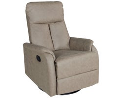 Swivelling Armchair, rocking and reclining