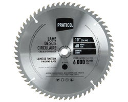 Finishing Circular Saw Blades 10 in., 60-Tooth (3-Pack)