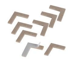 Felt Gard Corner Felt Pads - 1-1/2 in. (8-Pack)