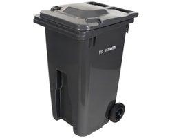 IPL Grey Wheeled Bin 240 L