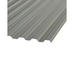 Suntuf Smoke Corrugated Polycarbonate Panel 8 ft.