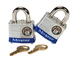 Identical Padlocks - 1-9/16 in. (2-Pack)